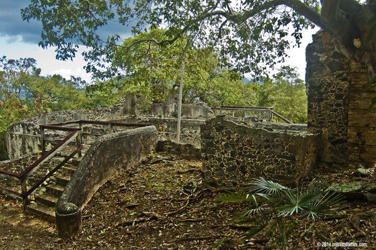Annaberg school ruins on St John