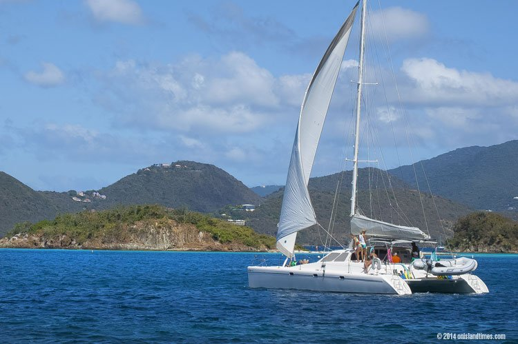 Information for sailing and mooring at Waterlemon Cay, Leinster Bay, St John, USVI