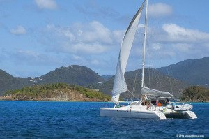 Information for sailing and mooring at Waterlemon Cay, Leinster Bay, St John, USVI