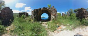 Old Danish Guardhouse ruins, St John US Virgin Islands National Park