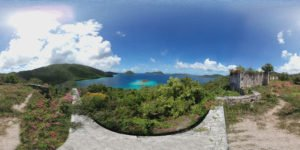 Waterlemon Cay Windy Hill Murphy House ruins 360 VR