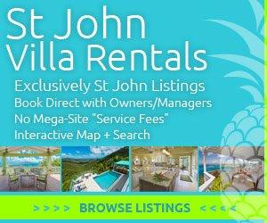 St John Vacation Rental Villas US Virgin Islands