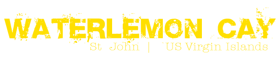 Waterlemon Cay St John logotype yellow